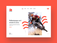 Cycling Website Designs