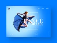 Dance Academy Website Design