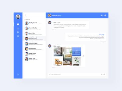 Desktop Chat Application Design