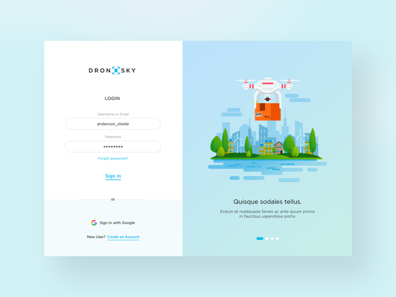 Login Screen Design by Luke Peake for TIB Digital on Dribbble