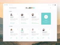Dashboard & Inbox Design