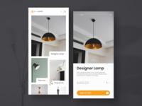 Designer Lamp App Design
