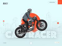 Cafe Racer Website Design