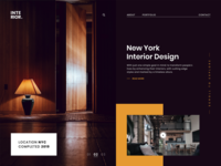New York Interior Design Agency Website Design