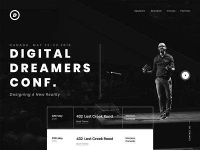 Digital Dreamers Conference Website