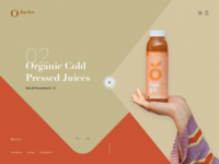 Organic Cold Press Juices Website Design