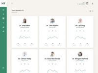 Doctor Team Management Dashboard