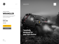 Wrangler Off-Road Website Design
