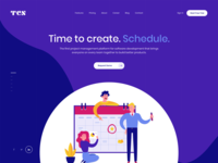 Schedule Software Website Design