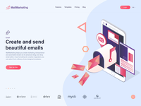 Send Beautiful Emails - Website Design