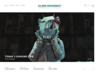 Film Director Website Design