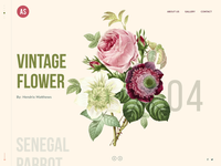 Digital Agency Flower Website Design