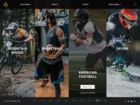 Sports Score & Information Portal Website