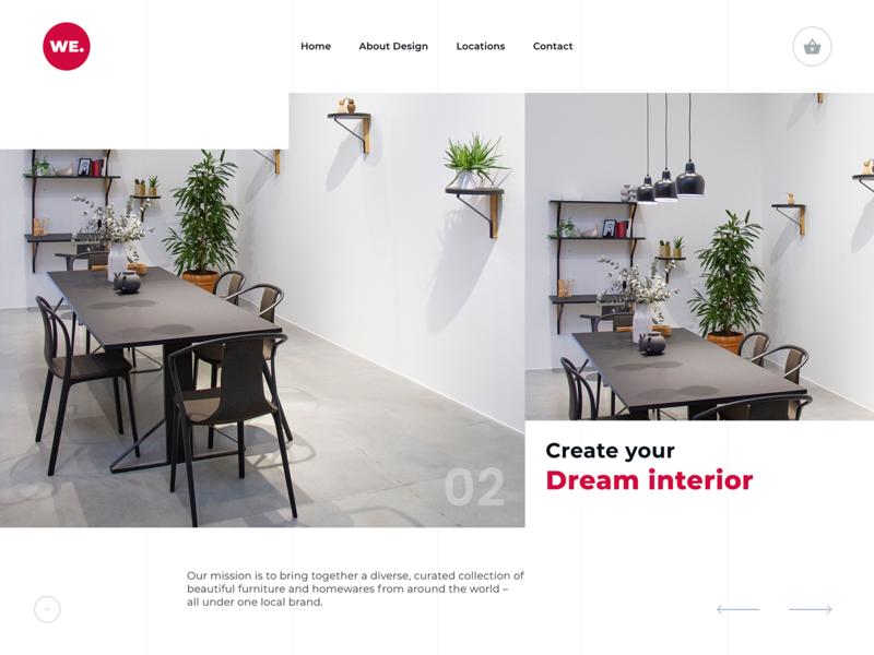Website Design for Interior Designer Company by Luke Peake ...