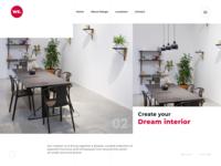 Website Design for Interior Designer Company