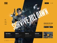 Survive Till Dawn - Game Website
