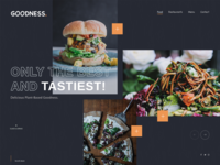 Vegan Plant-Based Website Design