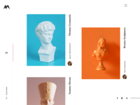 Artist & Creatives Website Design