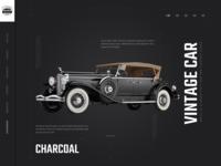 Vintage Car Website Design