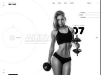 Exercise Workout Website Design
