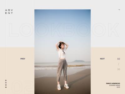 Fashion Lookbook Website