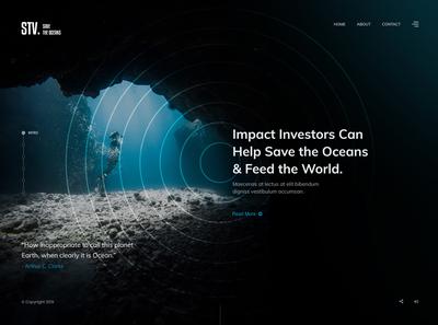 Save the Ocean! Website Design