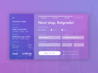 Daily UI Challenge // 002 // Credit Card Checkout