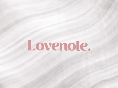 Lovenote Brand Identity