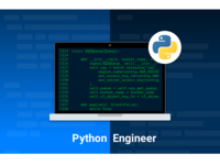 Python Engineer job position graphic
