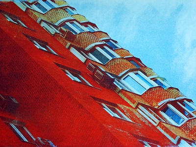 Moscow moscow russia building architecture printmaking printmedia print cmyk screenprint
