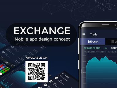 JIB exchange mobile application uxui digital wallet crypto app