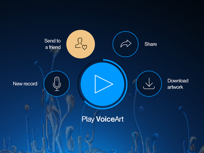VoiceArt user interface
