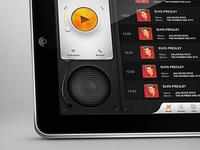 Radio app tablet version