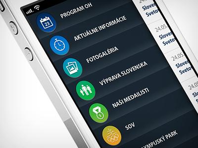 olympic app dashboard olympic sov app iphone dashboard ui