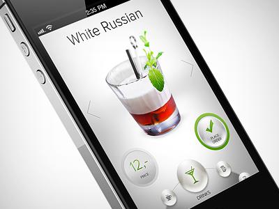 drink app doodle up iphone ios app drink ui ux design graphic