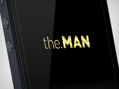 the.MAN concept app the.man ios iphone5 app