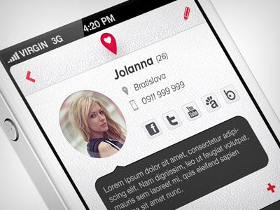 Partner Tracker App partner tracker app ios ui ux iphone