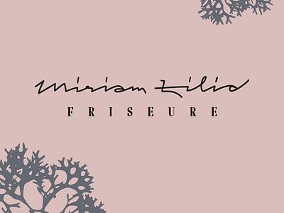 Miriam Zilio Friseure corporate logo typography handlettering lettering
