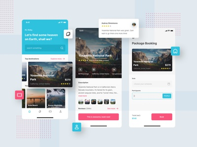 Intravel, Traveling App UI ✈ traveling booking system flight ui concept ui design app design iphone destination travel app travel concept ui user interface