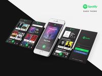 Spotify Redesign - Dark Theme