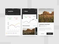 Investment Mobile App UI - Redesign