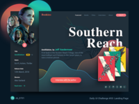 Bookino Landing Page Concept