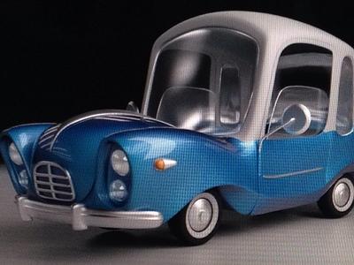 WIP Cartoon Car Design
