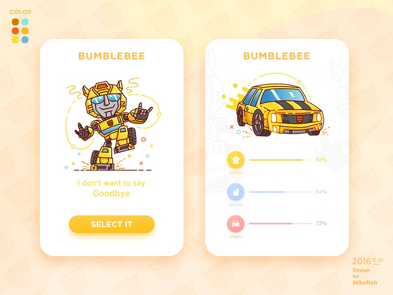 Bumblebee man;car