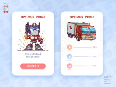 OPTIMUS  PRIME transformers man optimus  prime,car