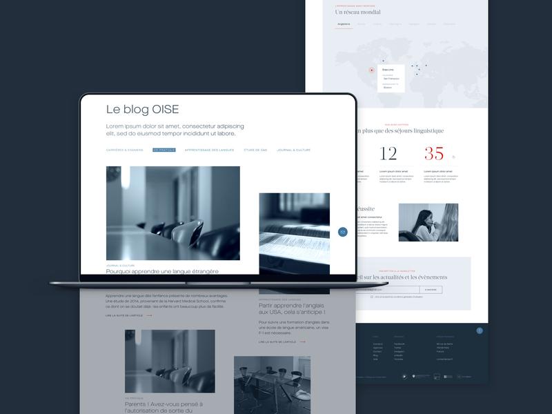 Oise Blog / Agency