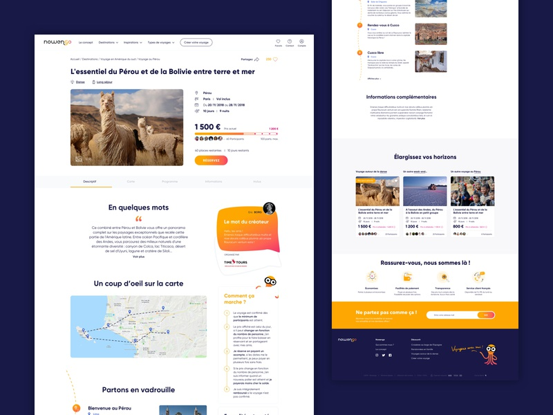 Nowengo Product page