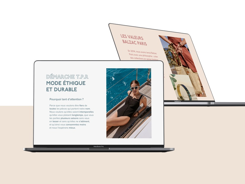 Balzac Paris Website