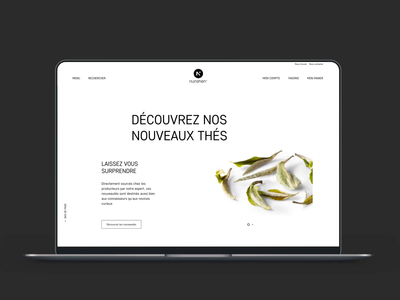 nunshen Homepage animation
