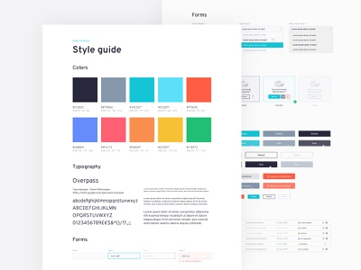 DEEP Style Guide styles error lists button checkbox forms colors typography guide styleguide ui brand design web design inspiration design